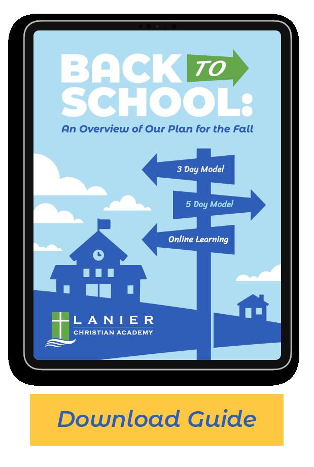 Lanier Christian Back to School